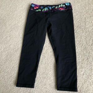 Ivivva reversible crop leggings
